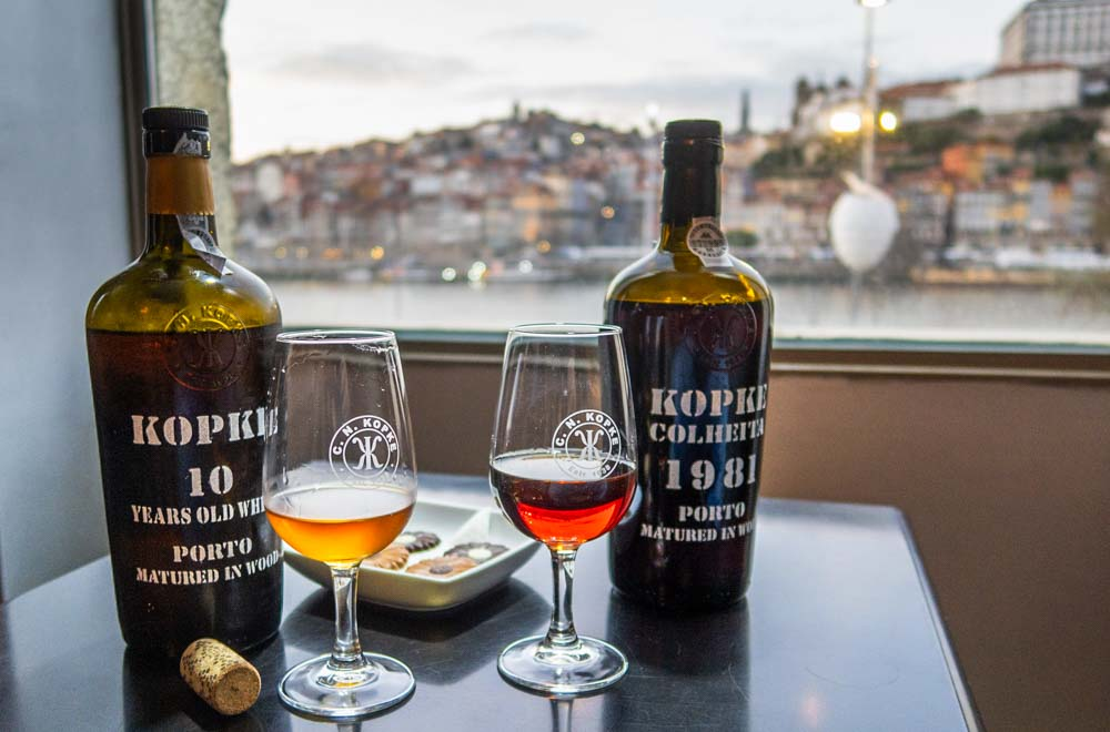 Port Tasting with View at Kopke Wine House in Porto