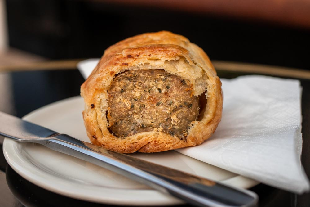 Sausage Roll at Reference Coffee in Dublin