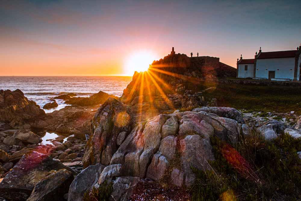 Sunset View at Casa de Cha da Boa Nova in Porto