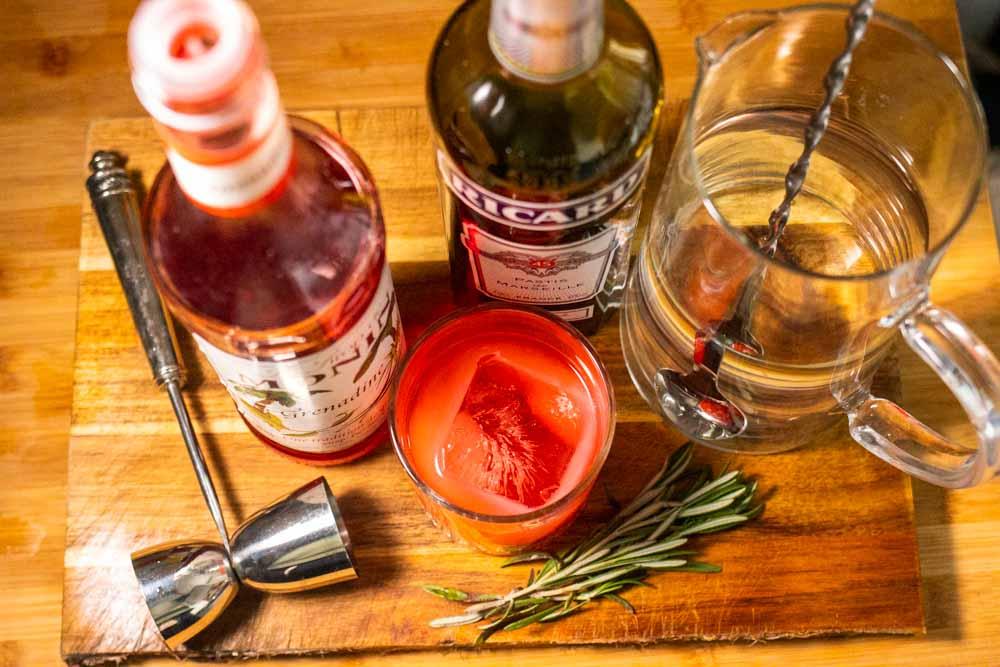 Tomate Cocktail Ingredients