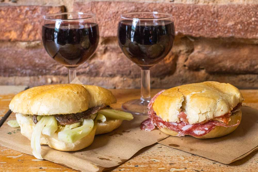 Wine and Paninis at Semel in Florence