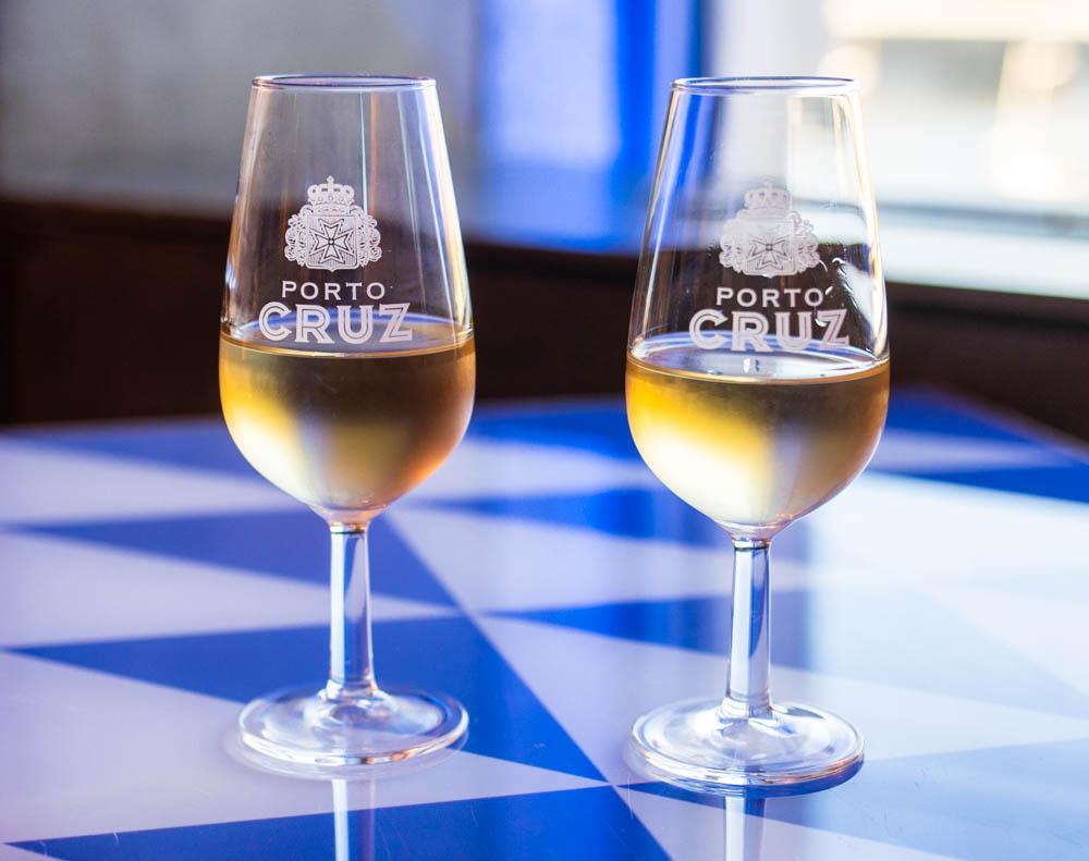 Wine at DeCastro Gaia in Porto