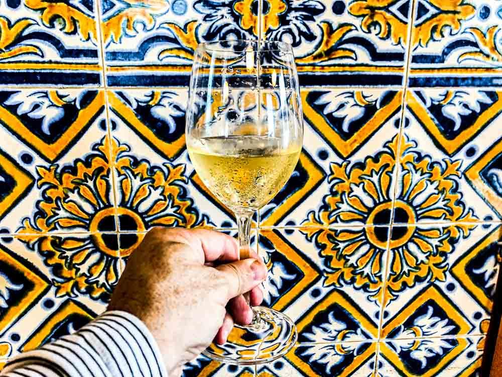 Wine at O Gaveto in Porto