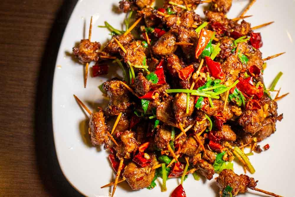 Chinese Food at Chengdu Taste in Los Angeles