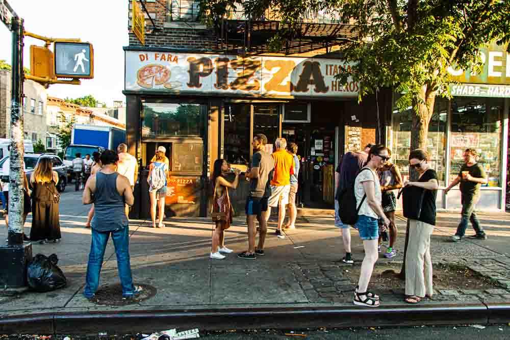 Di Fara Pizzeria in NYC