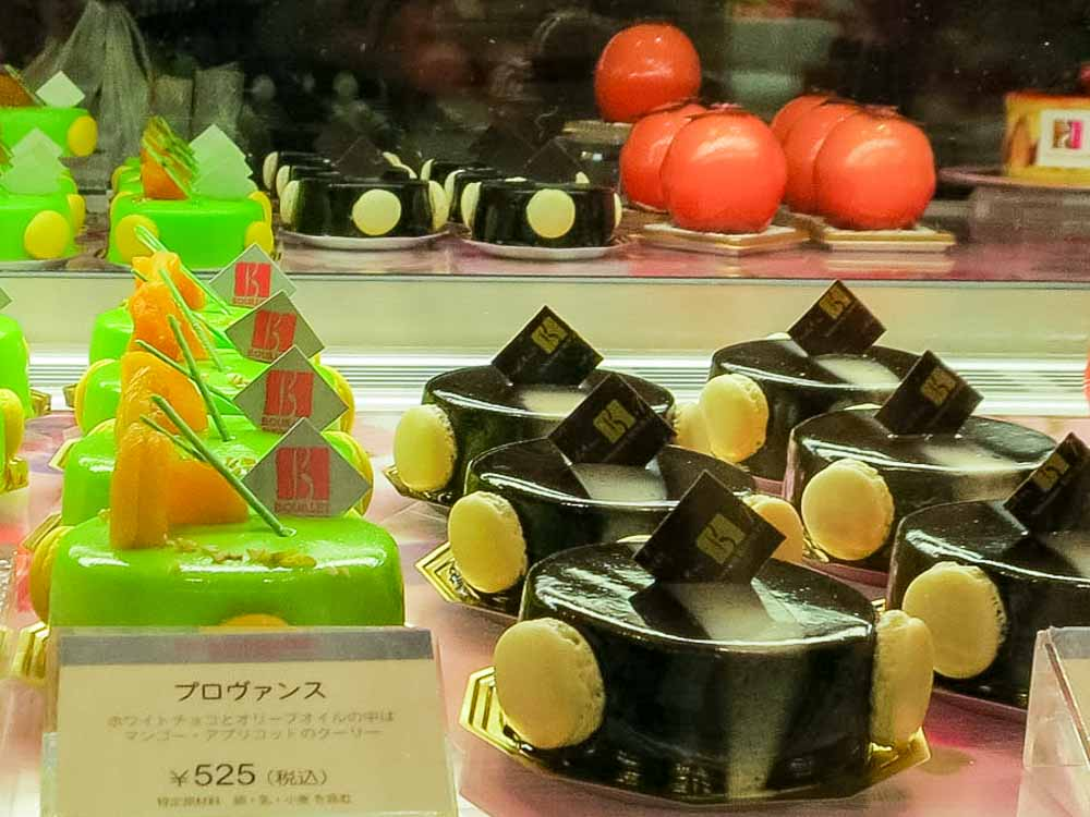 French Pastries in Japan