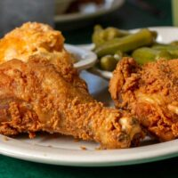 Fried Chicken at Four Way in Memphis