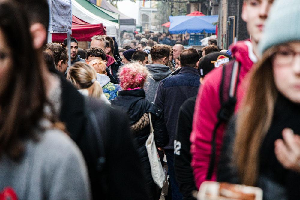 Maltby Street Market in London