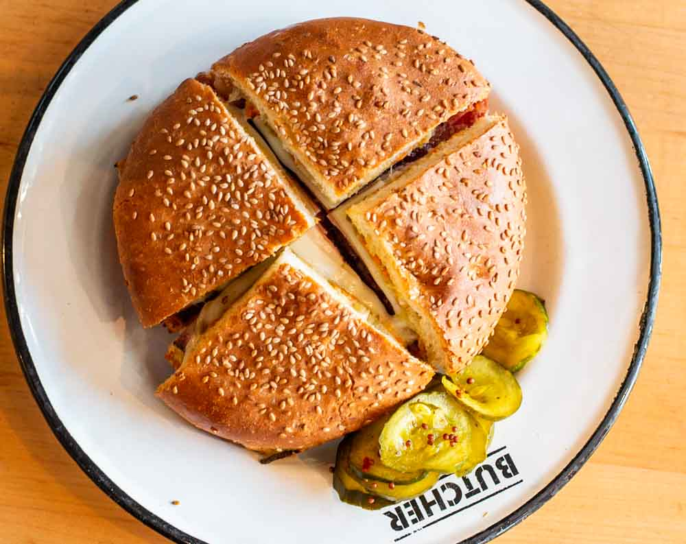 Muffaletta at Cochon Butcher in New Orleans