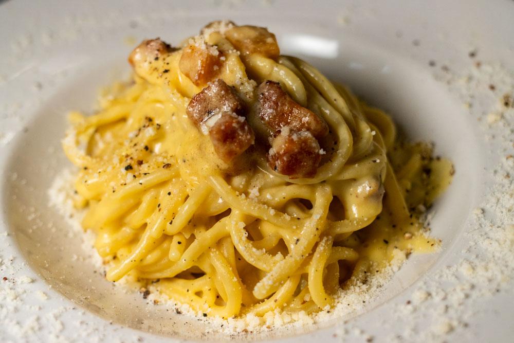Pasta at Roscioli Salumeria con Cucina in Rome