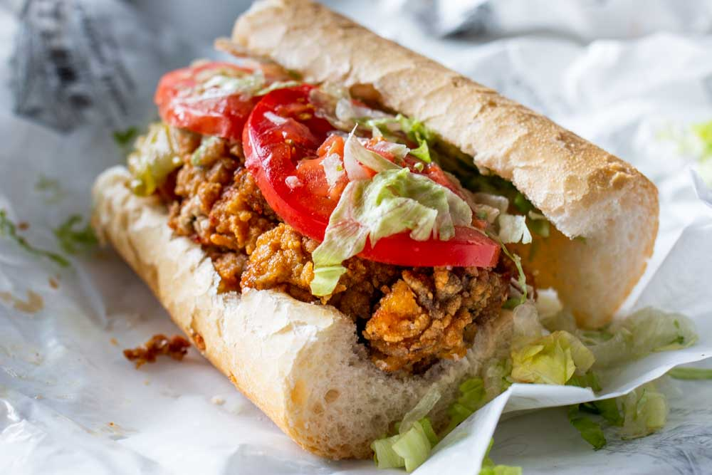 Po Boy in New Orleans