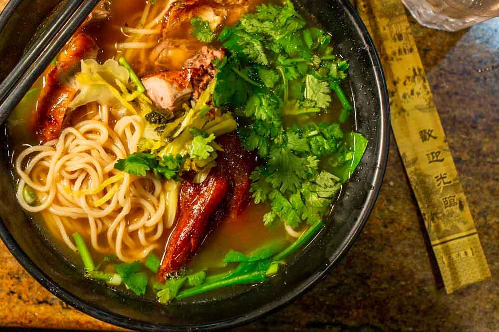 Pulled Noodles at Nan Zhou in Philadelphia