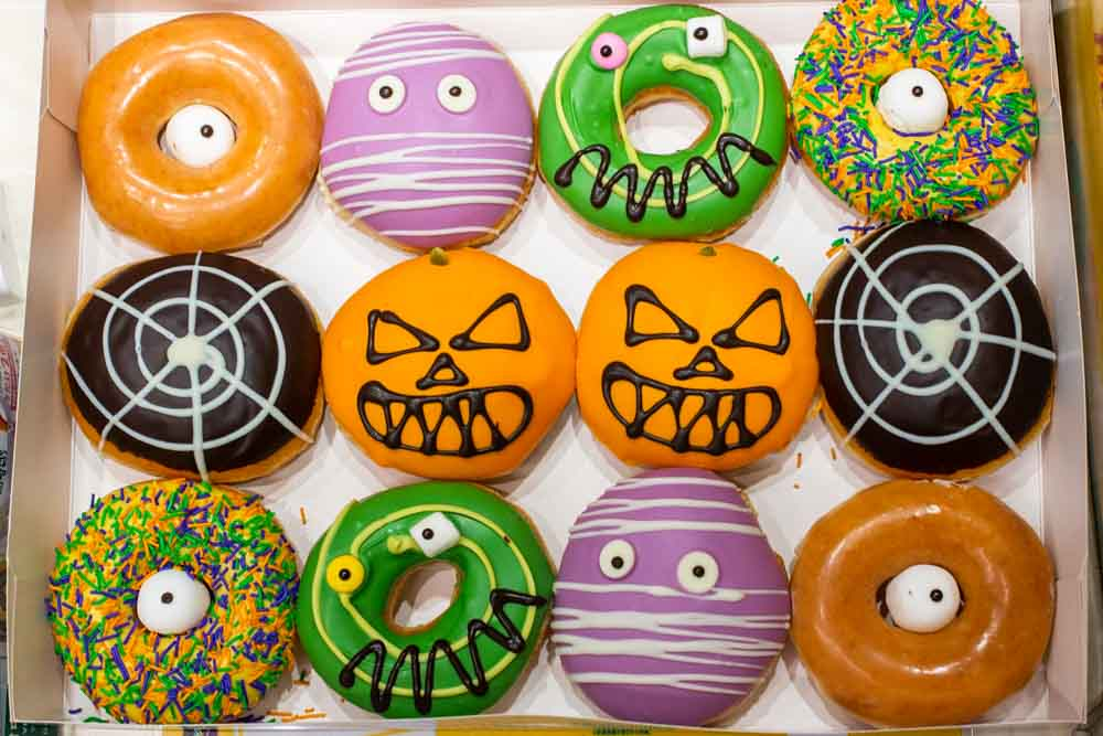 Quirky Donuts in Tokyo Japan