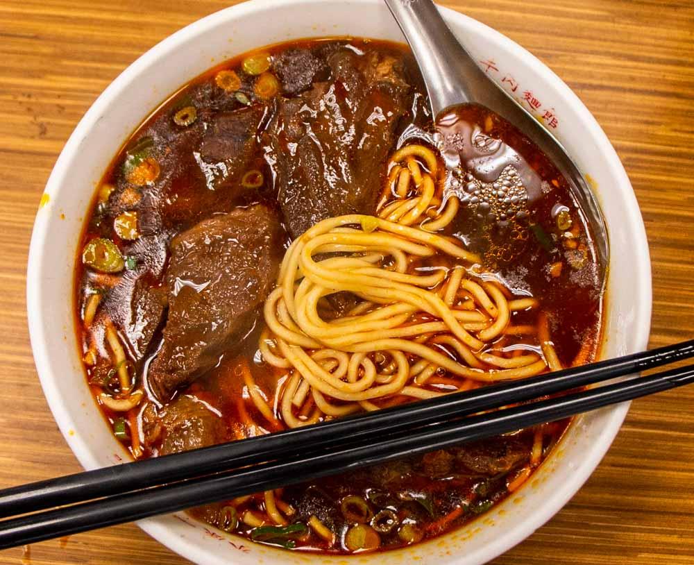 Yong-Kang Beef Noodles in Taipei