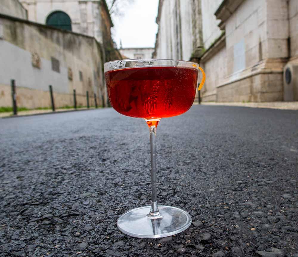 Boulevardier on Lisbon Street