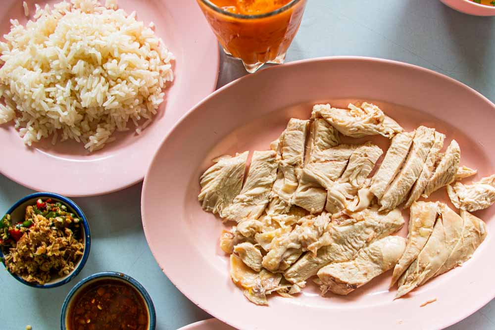 Chicken and Rice at Kiet O Cha in Chiang Mai