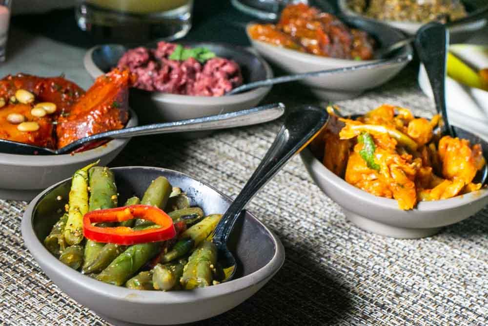 Dishes at Zahav in Philadelphia