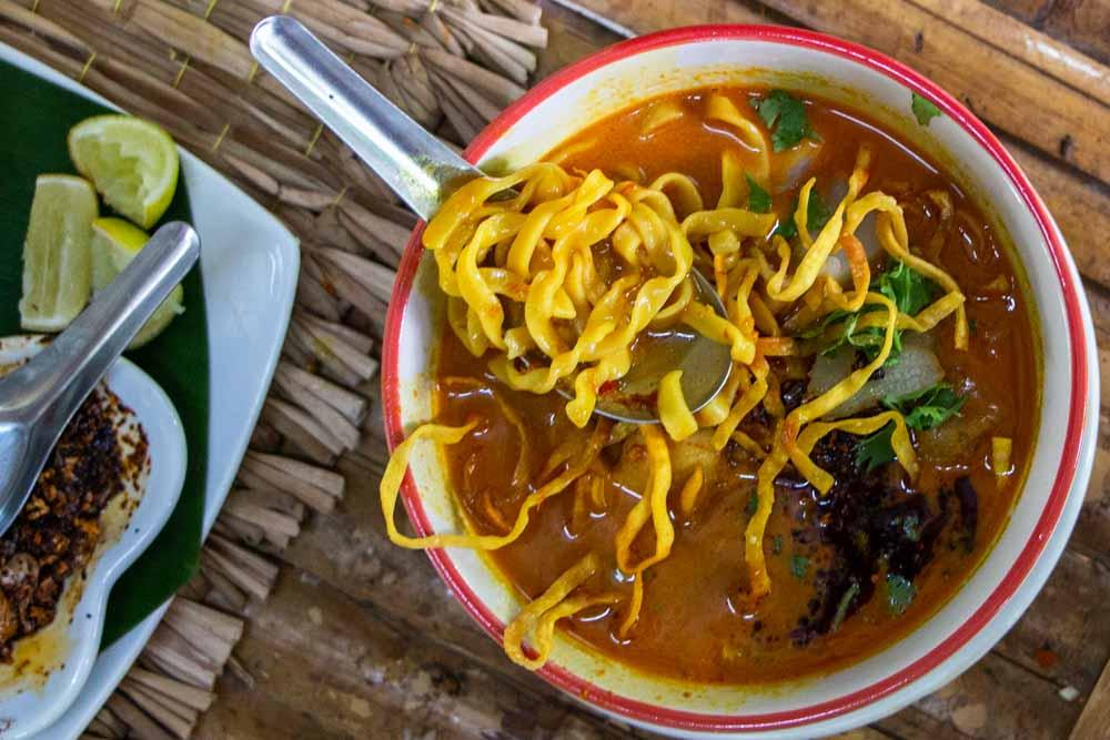 Khao Soi at Chiang Mai Cooking Class