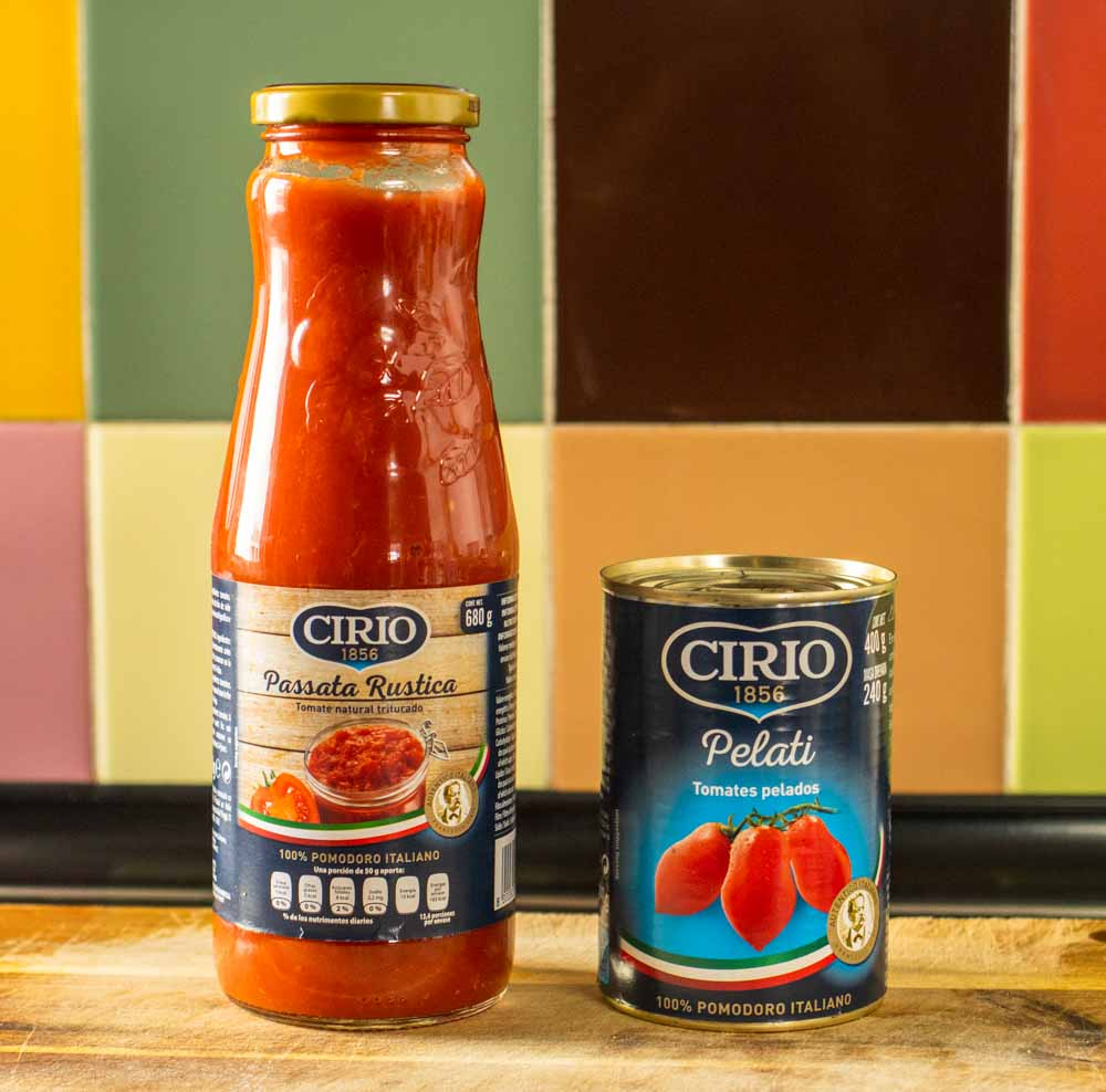 Passata vs Canned Tomatoes