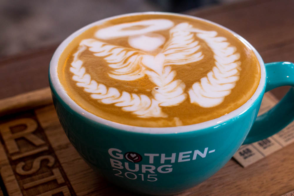 Satan Latte at Ristr8to in Chiang Mai
