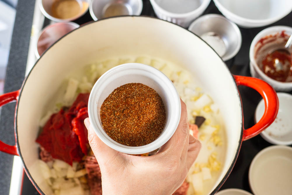 Adding Chili Pepper to Cincinnati Chili