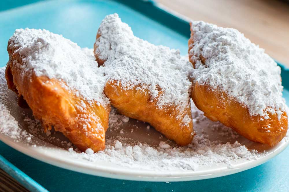 Beignets at Coffee Call in Baton Rouge