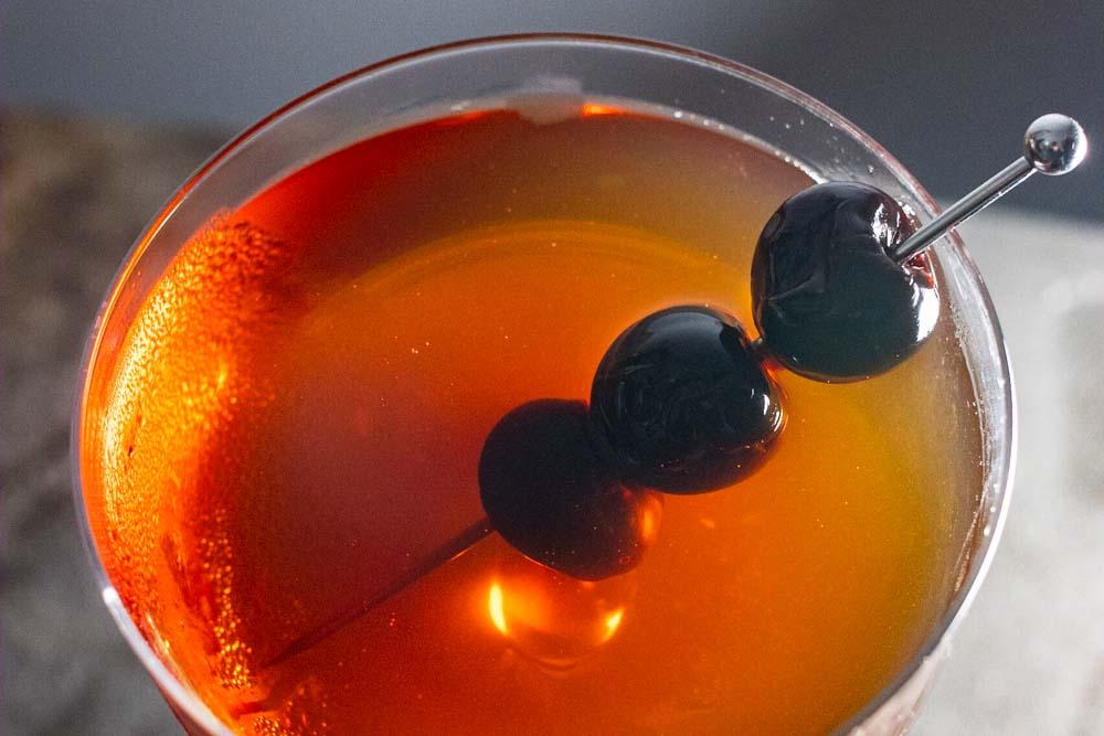 Bourbon Manhattan Featured Image
