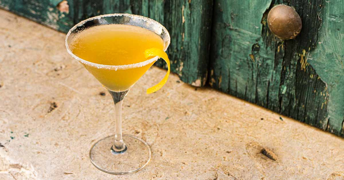 Why Not Drink a Bourbon Sidecar this Weekend?