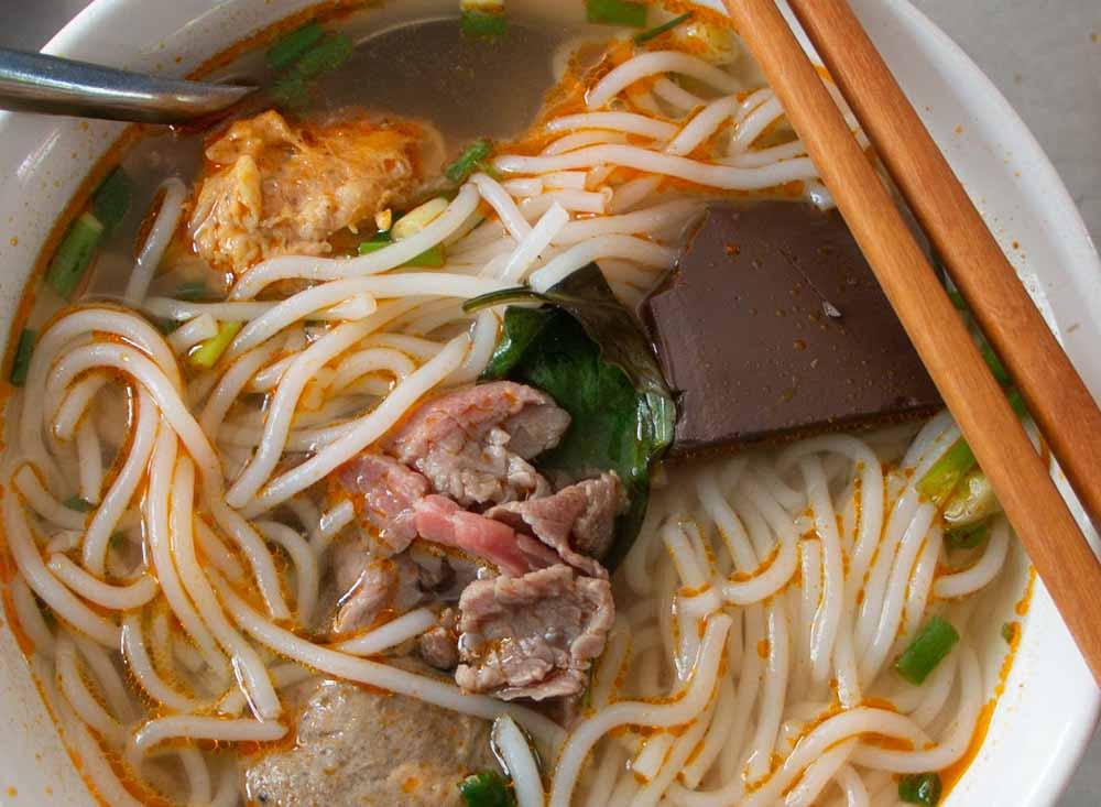 Bun Bo Hue at Hue Restaurant