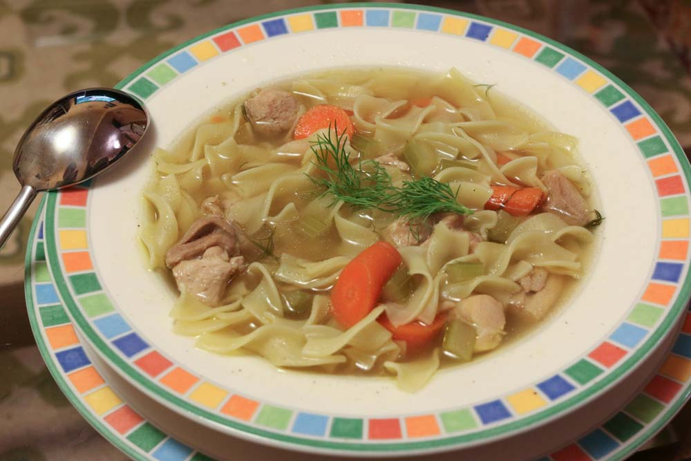 Chicken Noodle Soup at Home