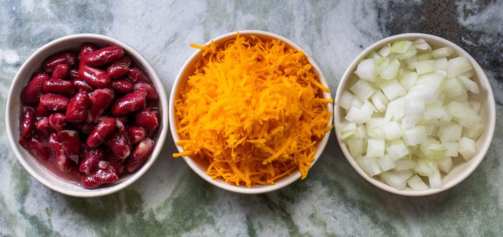 Cincinnati Chili Toppings