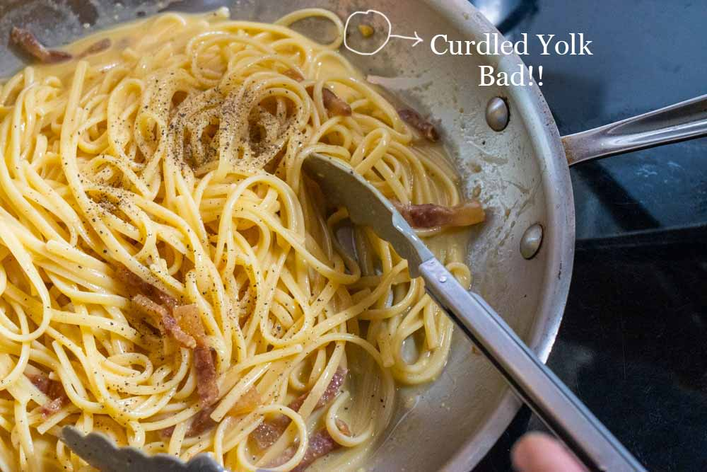Curdled-Yolk-in-Linguine-Carbonara