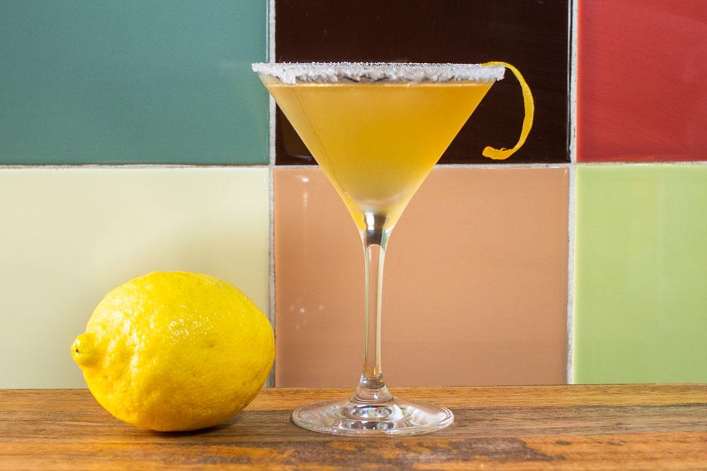 Lemon and Bourbon Sidecar