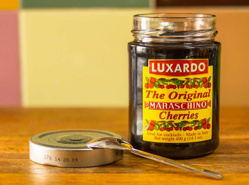 Luxardo Cherry Jar and Jar