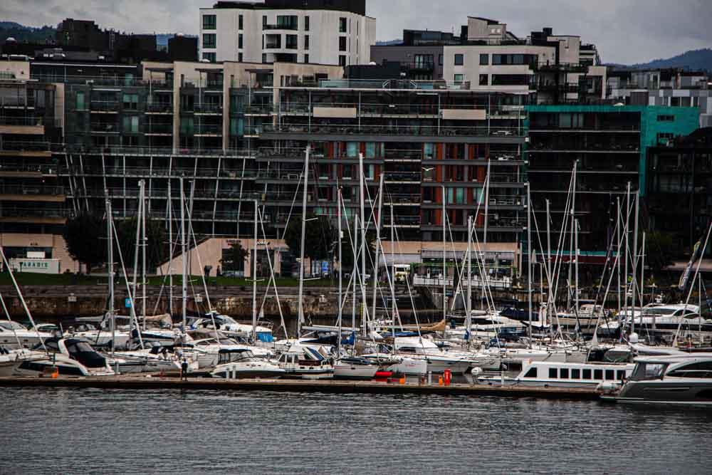 Oslo Port on Nieuw Statendam Holland America Norway Cruise