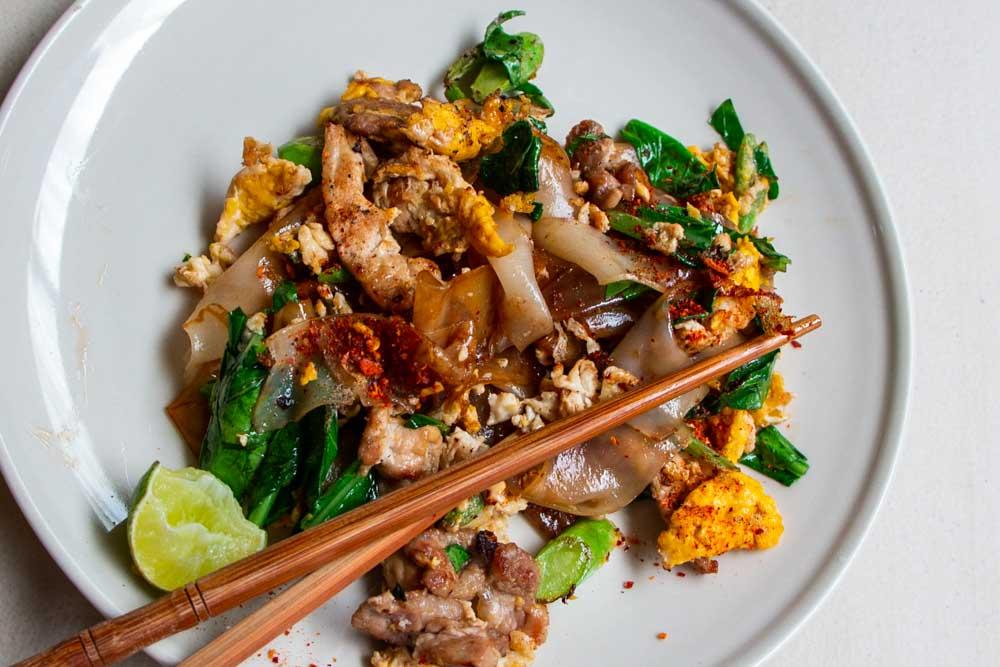 Pad See Ew at Bangkok Restaurant
