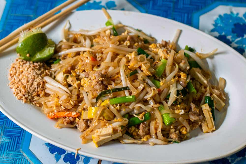 Pad Thai at Chiang Mai Restaurant