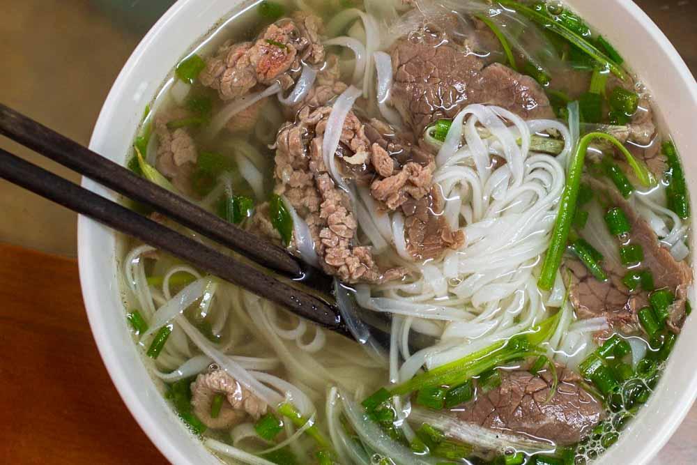 Pho at Hanoi Restaurant