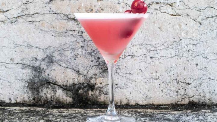 Pink Lady Cocktail