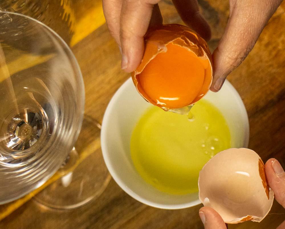 Separating an Egg White