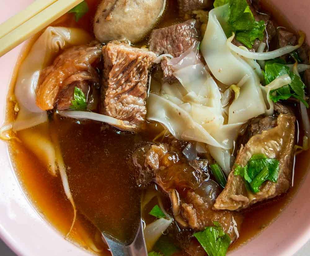 Thai Boat Noodles at Boankok Restaurant