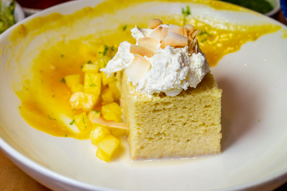 Tres Leches at Mission Taqueria in Philadelphia
