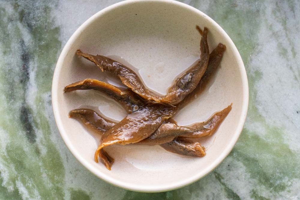 Anchovy Filets in Oil