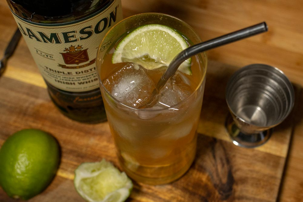 Crafted Jameson Whiskey Ginger