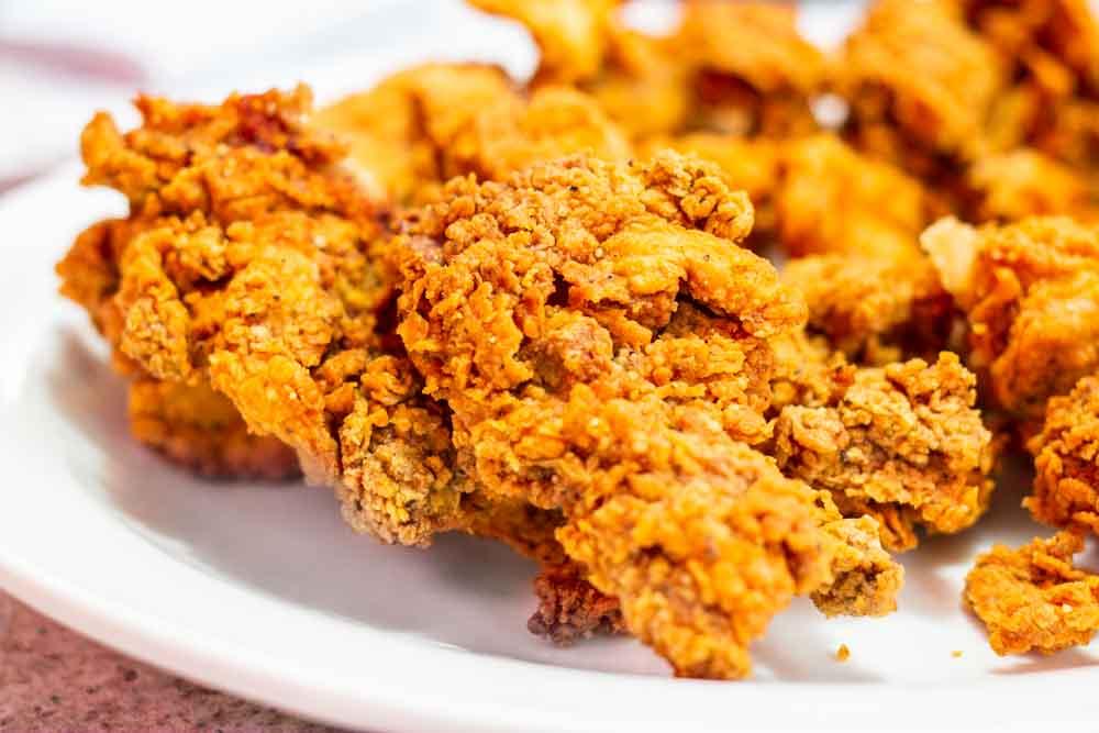 Fried Chicken at Als Chickenette in Kansas