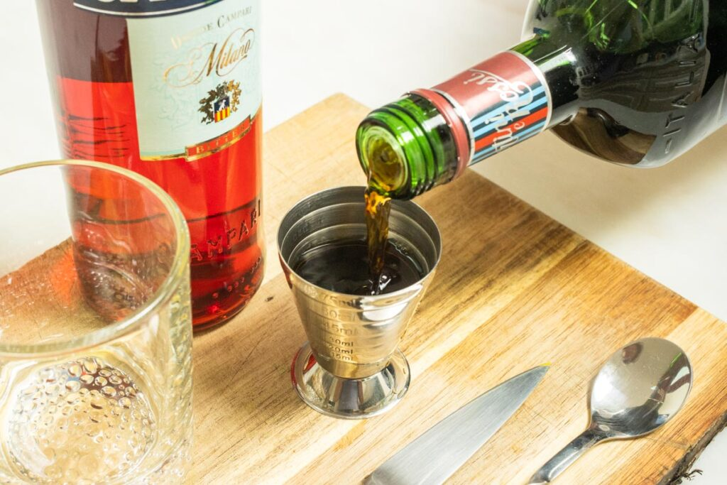Measuring Sweet Vermouth
