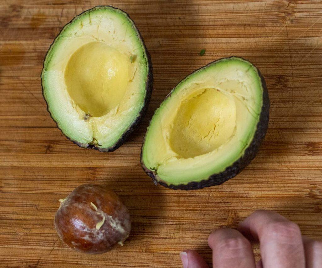 Avocado Halved