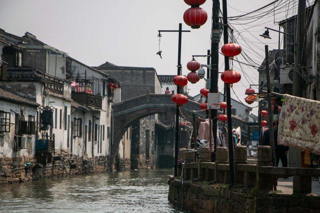 Canal in Suzhou China