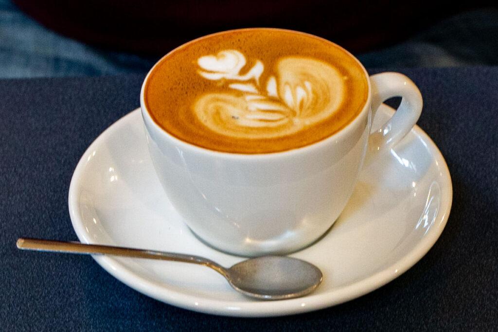 Cappuccino at Satans Coffee Corner in Barcelona