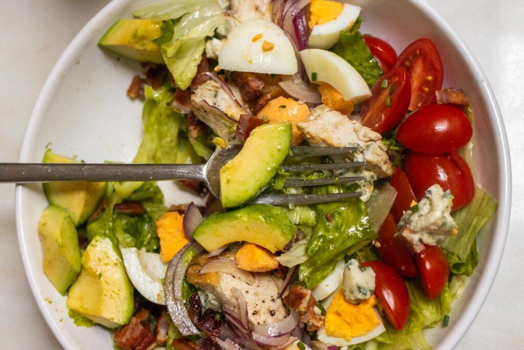 Cobb Salad Mixed Up